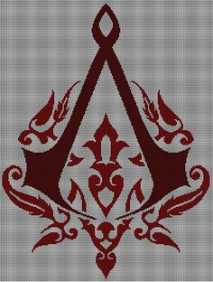 Ravelry: Assassin's Creed Revelations Ottoman Crest pattern by Jessica Halleck