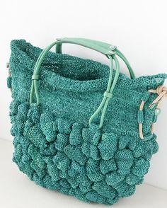 JAMIN PUECH Spring 2015 Knit bag