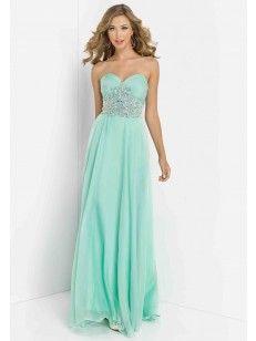 Sleeveless Beading Floor-length Sweetheart A-line/Princess Prom Dress