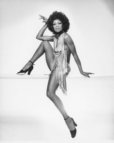 The Lola in Barry Manilow's 'Copacabana' was Lola Falana. Interesting.    Found on Vintage Black Glamour.