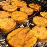 "When you think ""sweet potatoes"", a grill probably isn't the first thing that pops into your head... but this recipe might change that. These Grilled Cinnamon Sweet Potatoes are a must-try!"