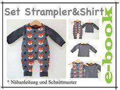 ★ ebook SET  Strampler & Shirt
