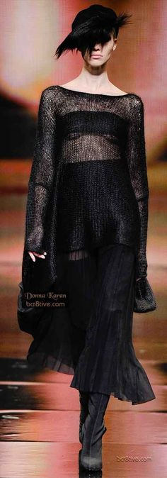 Donna Karan ~ Fall Winter 2014 Fashion Looks to Love