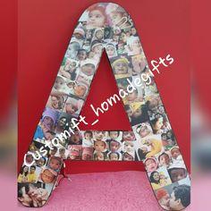 Alphabet letter A 😊 Customised photo alphabet ❤