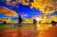 Photograph Boracay Sunset by Rhupert Basco on 500px )