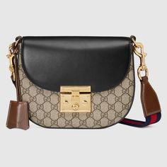 Padlock GG Supreme shoulder bag - Gucci Women's Shoulder Bags 453189K6RCG8982