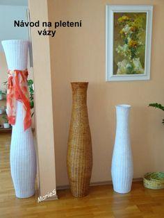 instrucciones para grandes jarrones - instructions for big vases - Návod na velké vázy