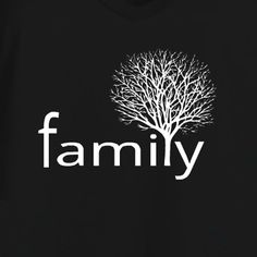 Family Tree t-shirt template. Make your own family reunion t-shirts using our online design studio. Order just a few on our no minimum required t-shirt products or in bulk for the whole tribe!