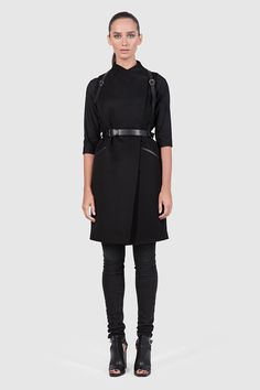 Asya Malbershtein Long Vest #Minimalist #Minimalism #Fashion