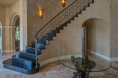 Traditional Staircase with High ceiling & simple granite floors in Grand Junction, CO | Zillow Digs