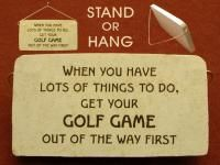 Gift plaques for Dad, for Fathers day.  Large selection of gift plaques and many styles as well offered at Absolute Inspirations gift store. Gift plaque for golfer. $12.95 (http://www.inspirationalgiftstore.com/funny-gift-plaques-for-golfers/?page_context=category