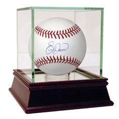 Eric Davis Signed MLB Baseball (MLB Auth)