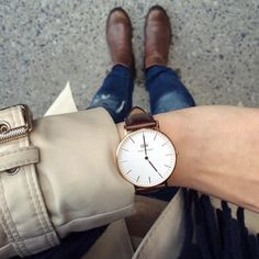 Perfect Christmas gift Daniel Wellington watch available at Worthmore Jewelers!