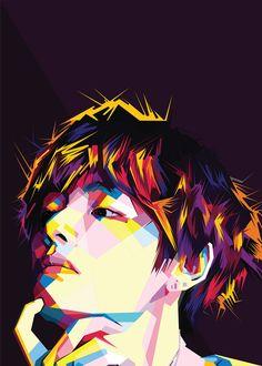 Drawing Wallpaper, Anime Scenery Wallpaper, Cartoon Wallpaper, Bts Wallpaper, Kpop Drawings, Art Drawings Sketches, Bts Art, Taehyung Fanart, Outline Art