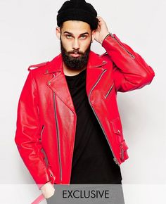 http://www.quickapparels.com/vintage-leather-biker-jacket-in-red.html