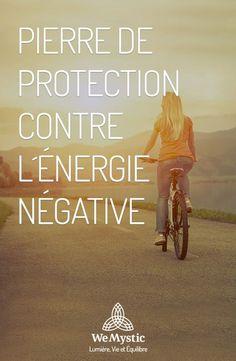 Pierre de protection contre l'énergie négative