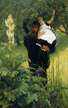 James Tissot, A Widower, 1877