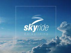 Skyride Paragliding Logo