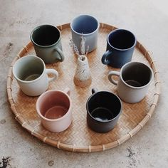 Atelier Dion Rainbow Mugs at General Store