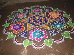 margazhi-kolam-23-pulli-12-in-between-dots Step 1 I started in middle dot Step 2 Now i completed middle design flower Step 3 How to put this design kolam , i have explained in different sides as i...