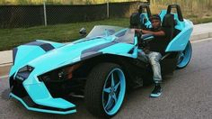 """Rapper """"Reminisce"""" looking smooth in a Slingshot 