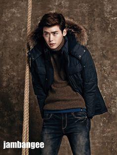 Jambangee's Winter 2013 Visuals Featuring Park Shin Hye & Lee Jong Seok | Couch Kimchi