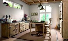 Lee&Lewis Kitchen Keuken Dennehout 4 Delen Met Natuurstenen Gootsteen 315