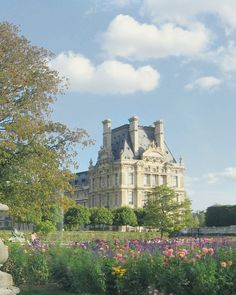 Jardim das Tulherias, em Paris, França