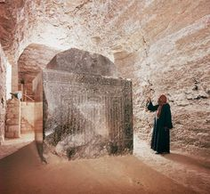 10 unbelievable images of the 24 highly-polished, massive sarcophagi in the Serapeum of Saqqara