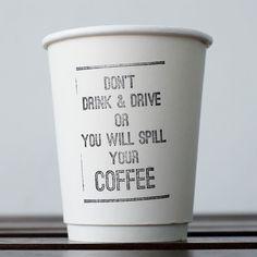 Coffee cup Pulp by Palhetta Kuala Lumpur  . @pulpbyppp Don't drink and Drive   (-) ....... ......... . . . . . . #coffeegram #cafestagram #thirdwavecoffee  #コーヒー #vscocoffee #coffeesesh #todayscoffee  #coffeecupdesign  #okbutfirstcoffee #masfotokopi #typology #snapachino #coffeeshop #papapalheta #malaysiancafes #goodquote #font #spilledcoffee #butfirstcoffee #coffeecup #papercup #takeawaycoffee #quoteoftheday #coffeecup #coffeetogo #dontdrinkndrive #dontdrinkanddrive by des_coffee
