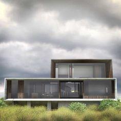 Une maison posée face à l'océan au sud ouest de Melbourne en Australie... ça laisse rêveuse!