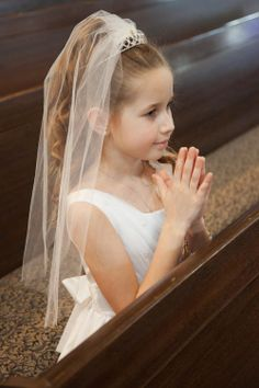 holy communion hairstyle