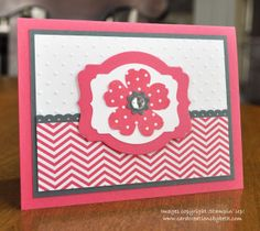 Hooked on Chevrons - Card Creations by Beth