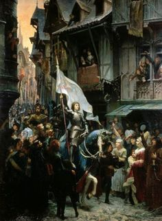 """Read """"Joan of Arc In Medieval France"""" by Robert Grey Reynolds Jr available from Rakuten Kobo. Joan of Arc came to prominence in the decade after France suffered a crucial defeat to the English at the Battle of Agin. Joan D Arc, Saint Joan Of Arc, St Joan, Jeanne D'arc, Catholic Art, Religious Art, Art Occidental, Classic Paintings, Dungeons And Dragons"""