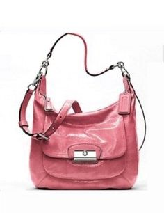 Coach Kristin Patent Leather Convertible Hobo