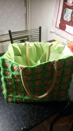 Ah tas voor het meenemen van mijn breiwerk.