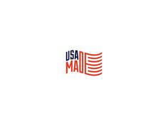 """simple and readable logo. states """"usa made"""" and uses the letters to mimmick an american flag. Typography Logo, Logos, Typography Design, Logo Branding, Ad Design, Identity Design, Logo Design, Design Ideas, Typography Inspiration"""