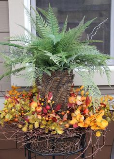 Savvy Seasons by Liz - use a wreath on the table