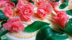 Ružičky z nepravého marcipánu
