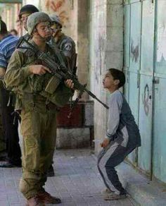 The daily life of children in the Holy Land under occupation by the Israeli…