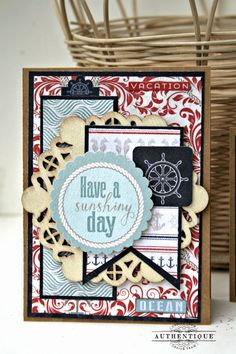 Project by Authentique Paper dt member Keely Livings