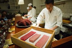 To Help You Squeeze The Best, Most Delicate Raw Fish Out Of A City With Infinity Sushi Spots, Here's A List Of The City's Top Seven Sushi Spots Ranging From Spots Run By A Gaijin Sushi Master In Ehe East Village, To An Apprentice Of One Of The Greatest #Sushi Chefs In The World, and Everything In Between!   -Thrillist #Foodies