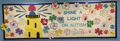 Shine a Light on Autism Awareness Bulletin Board!