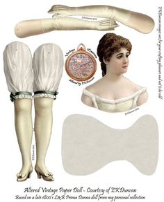 EKDuncan - My Fanciful Muse: Articulated Paper Doll