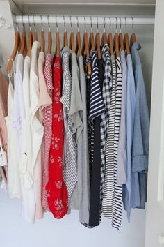 My Spring 2018 Capsule Wardrobe - tops