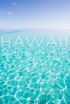 Hawaii.. Cannot wait for June!