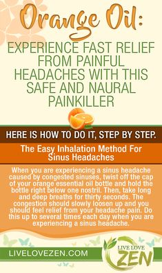 Orange Oil: Experience Fast Relief from Painful Headaches with this Safe and Naural Painkiller