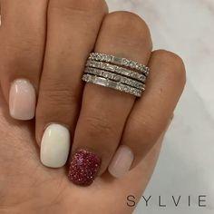 Blush Pink Nails, Pink Nail Colors, Cute Pink Nails, Pink Nail Art, Classy Nails, Simple Nails, Trendy Nails, Classy Nail Designs, Pink Nail Designs