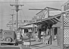 Of all the Russell Lee photos I've posted, this may be the best. A scene in the North Beach area of Corpus Christi,Texas 1939. Brilliant illumination, razor sharp, perfect tonal distribution, and so densely detailed. - Russell Lee