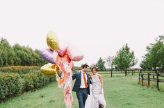 GENA + TONY // #colour #fun #wedding #love #party #bride #groom
